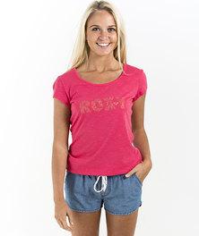 Roxy Peyotte T-Shirt Pink