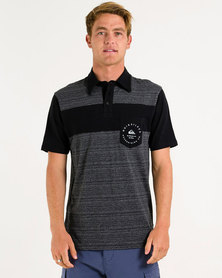 Quiksilver Herron Polo Black/Grey