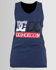 DC Boys Legends 94 Vest Blue