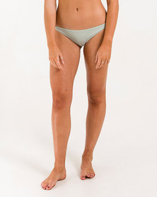 Roxy Essentials Strappy Surfer Bikini Bottom Wrought Iron
