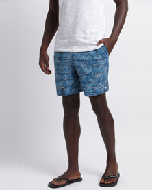 Lizzard Mario Boardshorts Blue