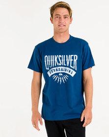 Quiksilver Sunset Co T-Shirt Blue