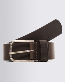DC Little Emboss Belt Brown