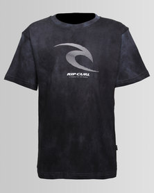 Ripcurl Boys Icon Corp Phaser Tee Black