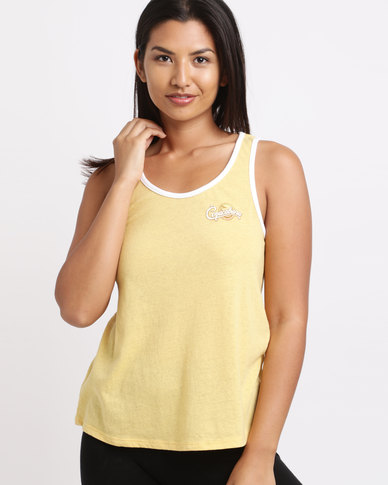 Billabong Copacabana Tanker Yellow