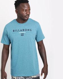 Billabong Tri Unity Short Sleeve Tee Blue
