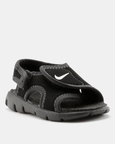 Nike Sunray Adjust 4 Toddler Sandals Black Zando