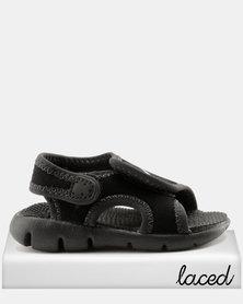 Nike Sunray Adjust 4 Toddler Sandals Black
