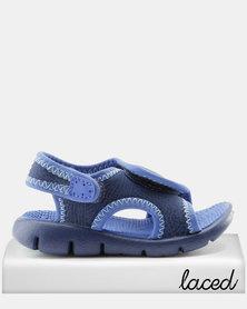 Nike Sunray Adjust 4 Toddler Sandals Blue