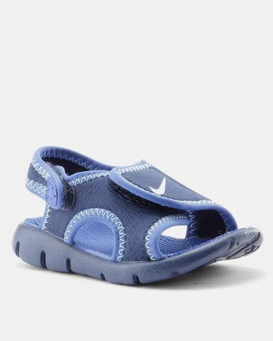 db4325364e78 Nike Sunray Adjust 4 Toddler Sandals Blue