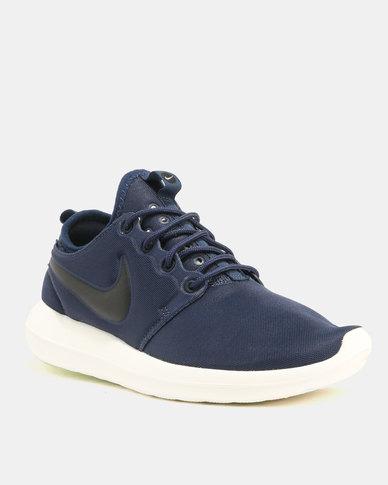 3f2faa44e01d Nike Roshe Two Sneakers Midnight Navy Black