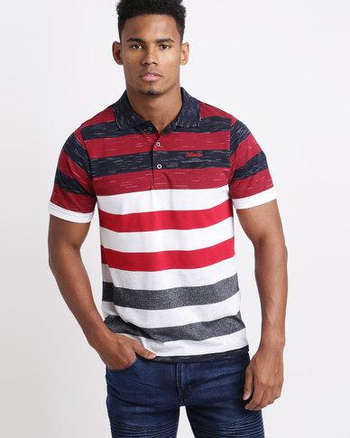 Klevas Elite T-Shirt Burgundy