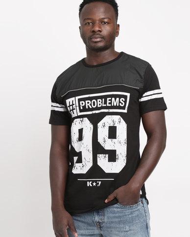 5f0d338f3 K7Star Jayz T-Shirt Black | Zando
