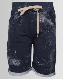 ECKÓ Unltd Boys Fleece Shorts Navy