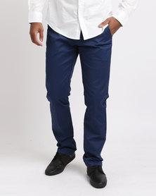JCrew Fancy Print Chino Pants Blue