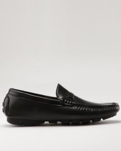 Bata Mens Casual Moccasins Black  e275b6178d0