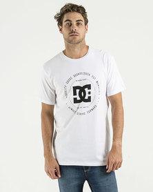 DC Rebuilt Short Sleeve T-Shirt White