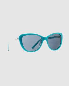 Slaughter & Fox Flower District Woman C2 Sunglasses Forever Blue