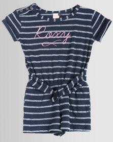 Roxy Tods Spark Of Joy Playsuit Dress Blues