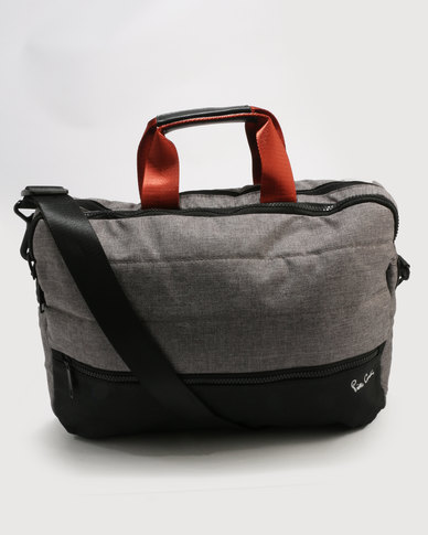 Pierre Cardin Nova Laptop Bag With Ipad Compartment Grey