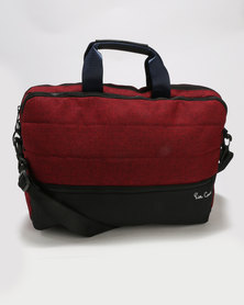Nova Laptop Bag with iPad Compartment Red/Black
