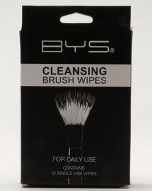 BYS Cleansing Brush Wipes 12 Pack 6g