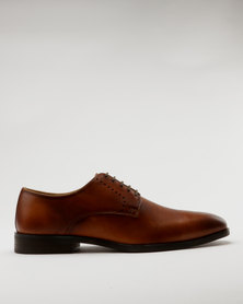 Roberto Morino Mauritzio 4 Leather Formal Lace Up Shoe Tan