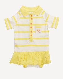 Parental Instinct Stain Resistant Emily Dress Yellow