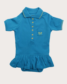 Parental Instinct Stain Resistant Emily Dress Blue