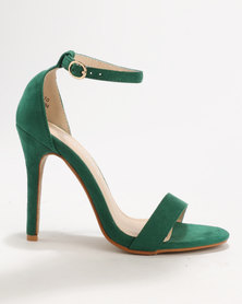 Utopia MF Barely There Heels Green