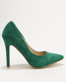 Utopia MF Pointy Court Shoe Green