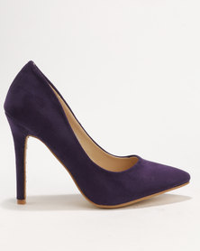 Utopia MF Pointy Court Shoe Purple