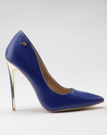 Miss Black Toni Heel Courts Blue