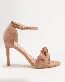 Miss Black Ray Heeled Sandal Pink