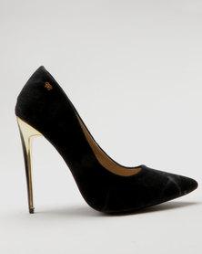 Miss Black Essex Court Heels Black