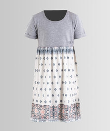 Roxy Girls Branche Of Lilac Dress Grey