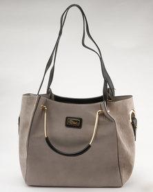 Miss Black Paris Shopper Bag Taupe