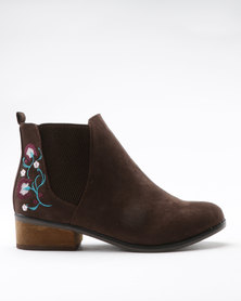 Dolcis Jean Boot Brown