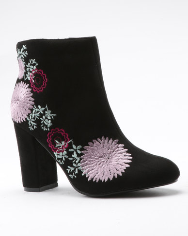Dolcis Felicity Boot Black