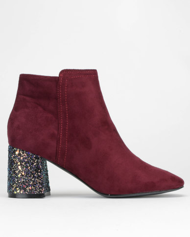 Dolcis Celina Boots Burgundy