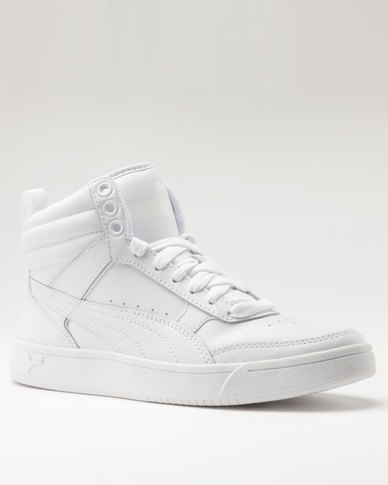 Puma Rebound Street V2 Leather White