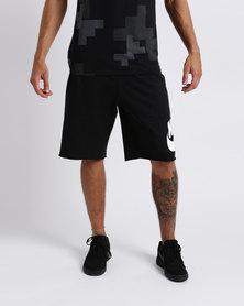Nike Mens Sportswear Shorts FT GX Franchise Shorts Black/White