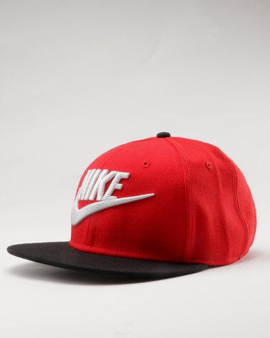 5200f9c69 Nike Futura True Peak Cap Red