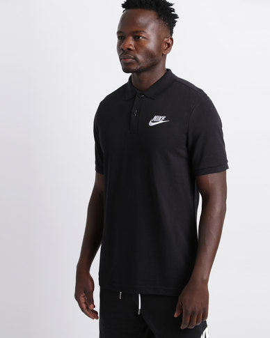 43b80ab7ff75b Nike Men's NSW PQ Matchup Polo Shirt Black | Zando