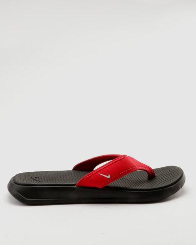 cb50ac1bc Nike Ultra Celso Toe Thong Sandal Red Blackl