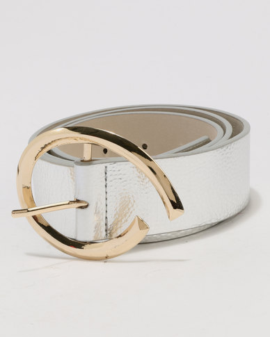 Joy Collectables Fashion Belt Silver-Tone