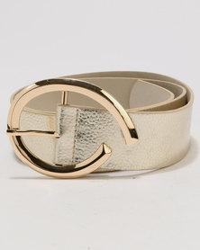 Joy Collectables Fashion Belt Gold-Tone