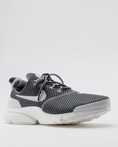 30452dacc4a1 Nike Women s Nike Presto Fly Sneakers Grey