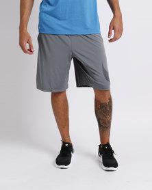 Nike Performance Mens NK Dry Short GFX Cool Grey/Black