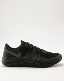 Nike Performance Women's Lunar Exceed Metallic Training Shoe Black